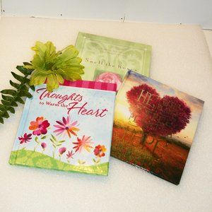 Assorted Accents - 3 Inspirational Books NEW Great for Gifts